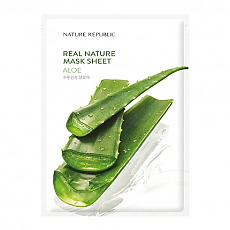 [Nature Republic] Real Nature Mask Sheet #Aloe
