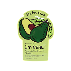 [Tonymoly] Im REAL Mask Sheet #Avocado 1ea