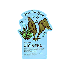 [Tonymoly] Im REAL Mask Sheet #Seaweeds 1ea