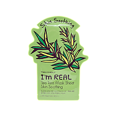 [Tonymoly] Im REAL Mask Sheet #Teatree 1ea
