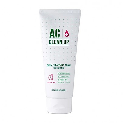 [Etude House] AC Clean Up Daily Cleasing Foam 150ml