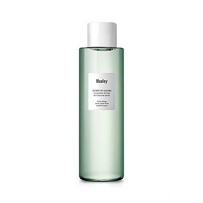 [Huxely] CLEANSING WATER; BE CLEAN, BE MOIST 200ml