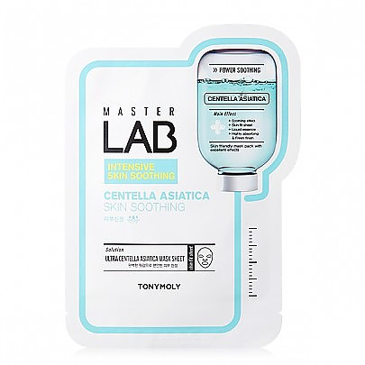 [Tonymoly] Master Lab Mask Sheet #Centella Asiatica