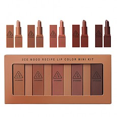 [3CE] Mood Recipe Lip Color Mini Kit #01