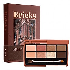 [heimish] Dailism Eye Palette #BRICK BROWN