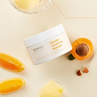 [Aromatica] Orange Cleansing Sherbet 180g
