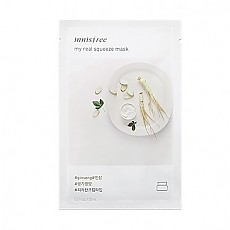 [Innisfree] My Real Squeeze Mask 1ea #Ginseng