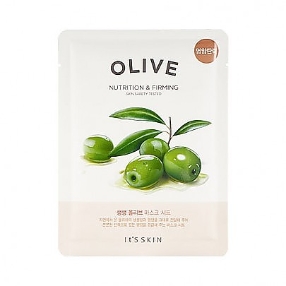 [Its Skin] The Fresh Mask Sheet #Olive