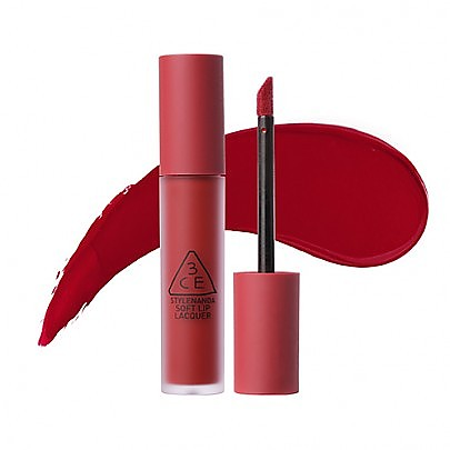 [3CE] Soft Lip Lacquer #Perk Up