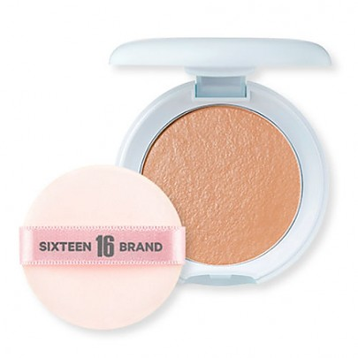 [16 Brand] 16 Mochi Pact #Sand Beige