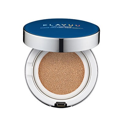 [Klavuu] BLUE PEARLSATION High Coverage Marine Collagen Aqua Cushion #No.23