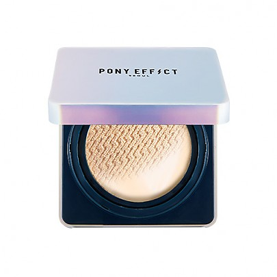 [MEMEBOX] PONY EFFECT Defense Longwear Cushion Foundation #Nude Beige
