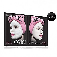 [ダブルデア(double dare)] OMG! 2IN1 KIT Detox Bubbling Microfiber Mask