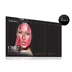 [ダブルデア(double dare)] OMG! PLATINUM HOT PINK FACIAL MASK KIT