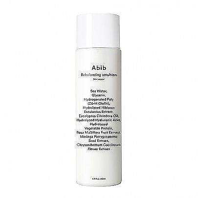 [Abib] Rebalancing Skin Booster 200ml #Emulsion
