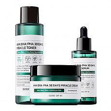 [SOME BY MI] AHA/BHA/PHA 30 Days Miracle Toner + Serum + Cream