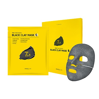 [BARULAB] BLACK CLAY MASK (5EA)