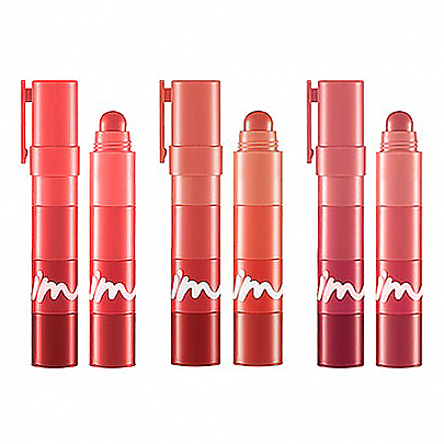 [IM MEME] IM MULTI LIP CRAYON MATTE #01 Red On My Lips​​