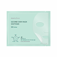 [Innisfree] Second Skin Mask #Soothing
