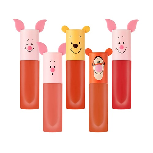 [エチュードハウス] Happy With Piglet Color In Liquid Lips Air Mousse