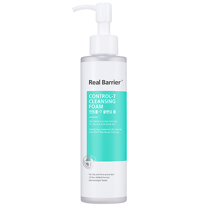 [Real Barrier]Control-T Cleansing Foam 180ml