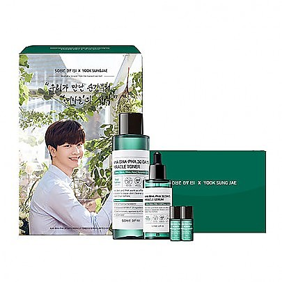 [SOME BY MI] AHA/BHA/PHA 30 Days Miracle Toner & Serum Set (Limited Edition01)