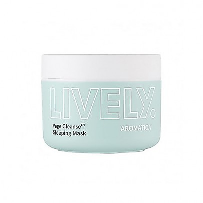 [Aromatica] LIVELY Sleeping Mask 100g  Vege Cleanse™