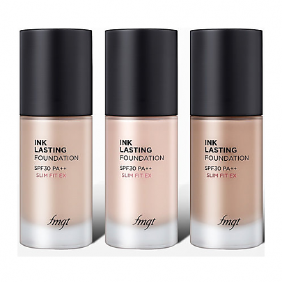 [THE FACE SHOP] INK LASTING FOUNDATION SLIM FIT EX