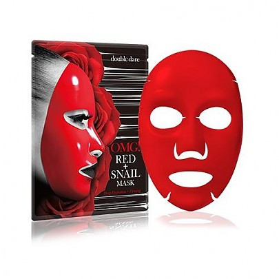 [double dare] OMG! Red Snail Mask 1ea