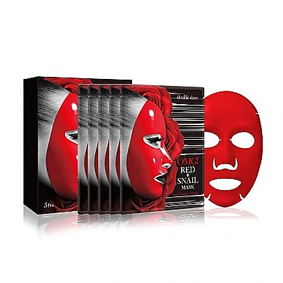 [double dare] OMG! Red Snail Mask #5EA