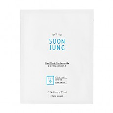 [Etude] SOON JUNG Panthensoside Cica mask 1ea