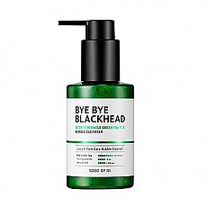 [SOME BY MI] Bye Bye Blackhead 30 Days Milacle Green Tea Tox Bubble Cleanser 120g