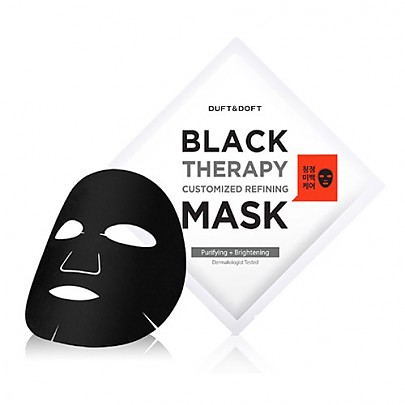 [DUFT&DOFT] BLACK THERAPY CUSTOMIZED REFINING MASK 1EA