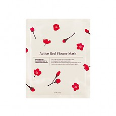 [HYGGEE] Active Red Flower Mask 10EA