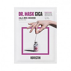 [Rovectin]	Skin Essentials Dr. Mask Cica 5枚