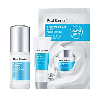 [Real Barrier] Extreme Cream Ampoule Set
