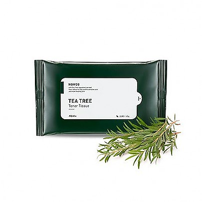 [APIEU] NONCO TEA TREE TONER TISSUE 20pcs