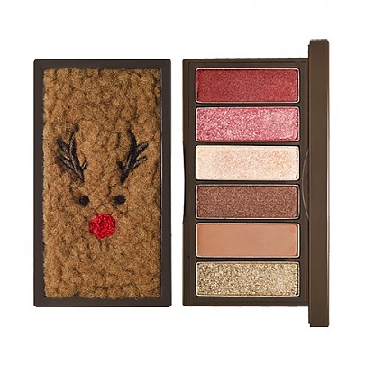 [Etude House] ★Holiday Collection★ Rudolph Coming To Town Play Color Eyes Mini #01 トナカイ