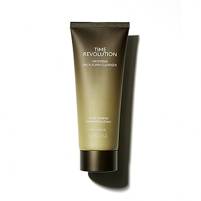 [Missha] Time Revolution Artemisia Pack Foam Cleanser 150ml