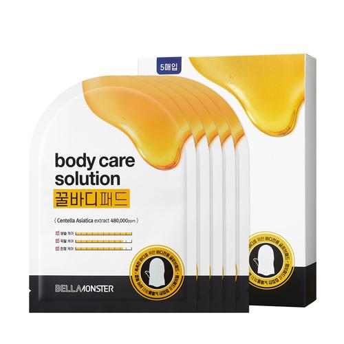 [BELLAMONSTER] Body care solution honey pad (5EA)