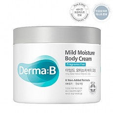 [Derma B] Mild Moisture Body Cream 430ml