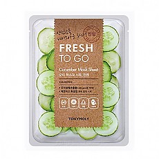 [Tonymoly] Fresh To Go Aloe Mask Sheet #Cucumber