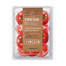 [Tonymoly] Fresh To Go Aloe Mask Sheet #Tomato