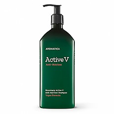 [Aromatica] Rosemary Active V Anti-Hair Loss Shampoo 400ml