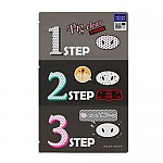 [Holika Holika] Pig Nose clear black head 3 Step kit Strong