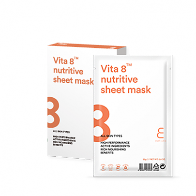 [Enature] Vita 8 nutritive sheet mask (10pcs)