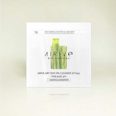 [Airive] Airy Skin Spa Cleanser 30 Days Soothe & Hydration