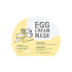 [Too Cool For School] EGG CREAM MASK SET - Hydration (5EA)