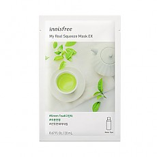 [Innisfree] My Real Squeeze Mask 1ea #Green Tea