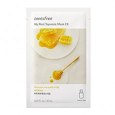 [Innisfree] My Real Squeeze Mask 1ea #Manuka Honey